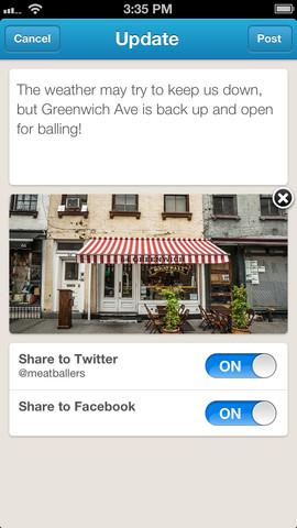 Foursquare for businesses screenshot 3